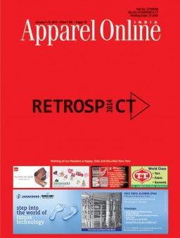 Apparel Online India Jauary, 1-15, 2015..